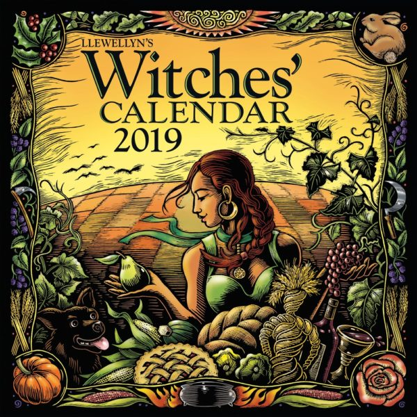 LLEWELLYN 2019 WITCHES CALENDAR