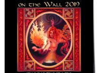 WEMOON ONTHE WALL 2019 CALENDAR