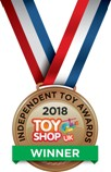 Kero, has won a bronze medal at the 2018 Independent Toy Awards